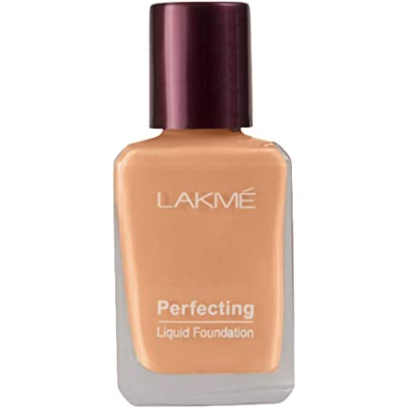 Lakmé Perfecting Liquid Foundation, Shell, 27ml