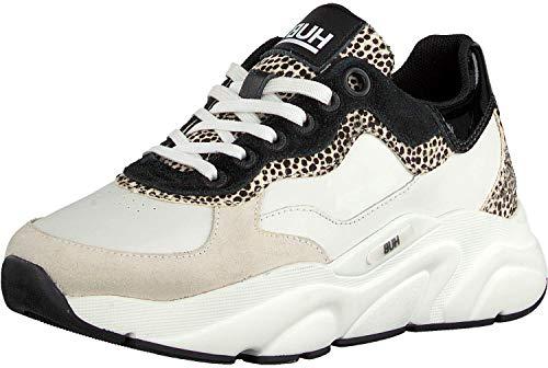 Hub Footwear - Rock L59 Pony Hair - Off White Cheetah, Größe:38 EU