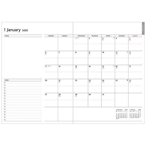 MARK'S(マークス)『EDiT週間ノート2019年12月始まりセミA5スープル・ビス』