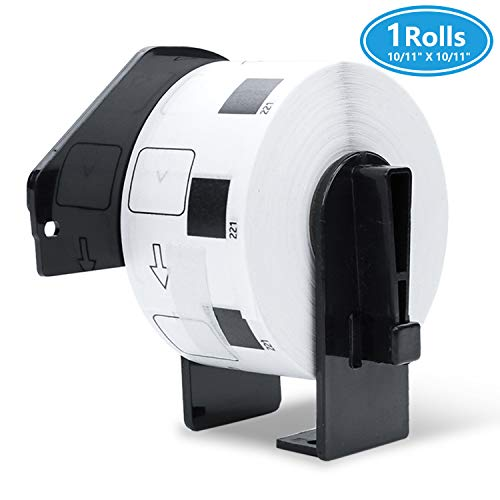 1 Roll Compatible DK-1221 Address/Barcode Labels,10/11