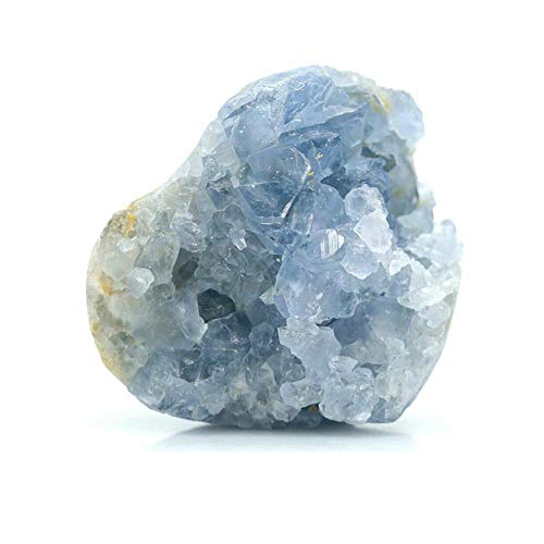 TOMMY LAMBERT Cristal azul natural de cuarzo celestite de cristal de cristal...