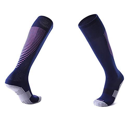 Minions Boutique Erwachsene und Kinder Fussball Socken Anti Slip Fussball Socken Maenner Fussball Struempfe Kniehohe Beinwaermer Sport Socke