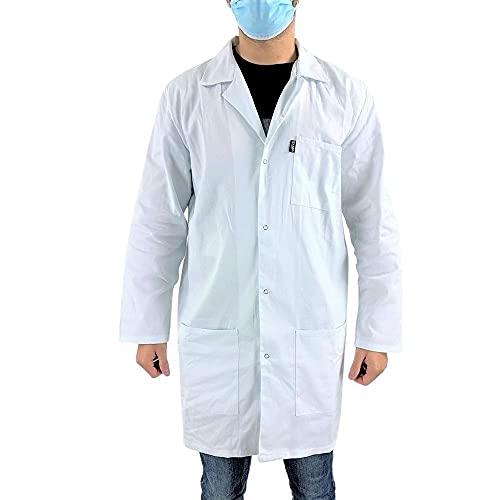 Blouse blanche chimie étudiant et lycéen Pigment LMA - taille 5 - XL