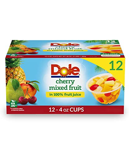Dole Fruit Bowls Cherry Mixed Fruit  Only $5.84!