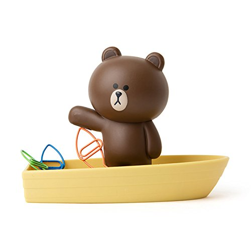 Cute office bear paperclip holder gift exchange gift