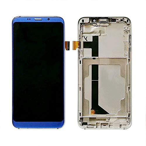 Reemplazo de la pantalla del teléfono Pantalla de ajuste fit For el teléfono móvil S8 Bluboo Display + Touch Screen Asamblea Con reemplazo de la pantalla Bluboo S8 pieza de reparación de la cinta + He