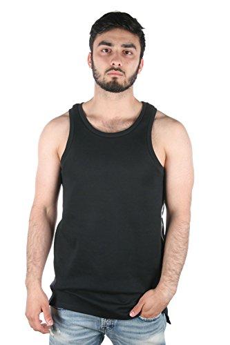 Nike Tech Fleece Tank T-Shirt sans Manches pour Homme L Noir, Blanc (Black/White/White)