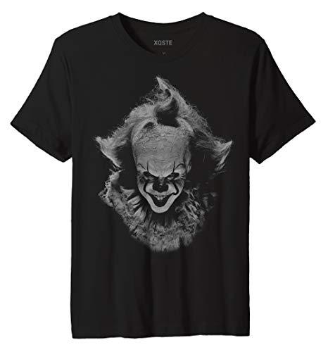 Xqste Clown Pennywise IT Halloween Horror Unisex T-Shirt