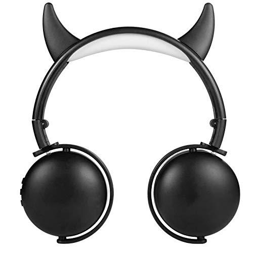 laize Bluetooth Headphones Kids Cute Horn Wireless Headphones Over Ear...