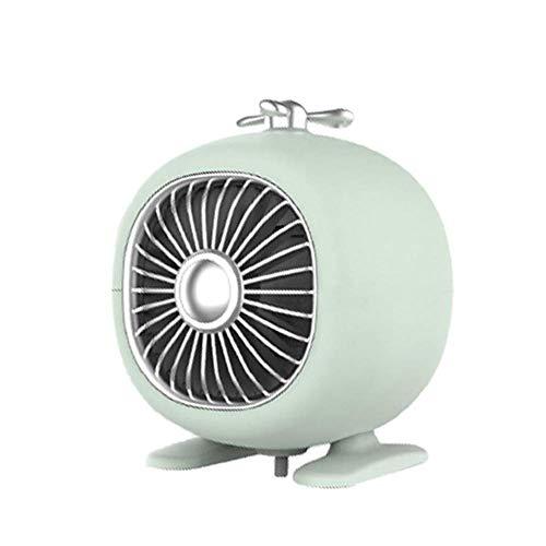 Mini Calentador Eléctrico de Invierno,Calentador de Ventilador Silencioso Portátil,Calentador de Espacio Creativo de Escritorio para Dormitorio en Casa,Regalo de Invierno Exquisito,Un Ahorro