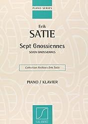 Gnossiennes (7)-Coll.Archives Satie - Piano