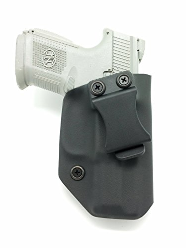 Fast Draw USA - Compatible with FN FNS 9c/40c IWB Kydex Holster Inside Waistband Concealed Carry Holster Made in USA (Black - Right Hand)