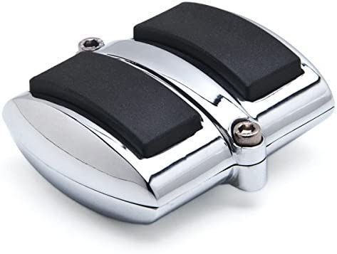 Krator Chrome Brake Pedal Purchase Heel Compatible Pad Popular shop is the lowest price challenge Shift Rubber Cover