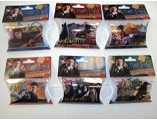 Forever Collectibles Harry Potter Deathly Hallows Logo Bandz 6 Pack Set +
