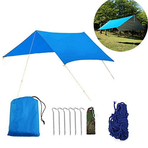 Buycitky Camping bâche imperméable Ripstop Rain...