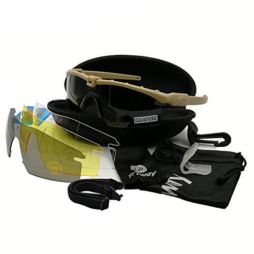 Gafas protectoras tácticas profesionales Gafas BALLISTIC M 3.0 Military Strike Gafas UV400 Army de disparo de airsoft deportes al aire libre polarizadas senderismo ciclismo Paintball