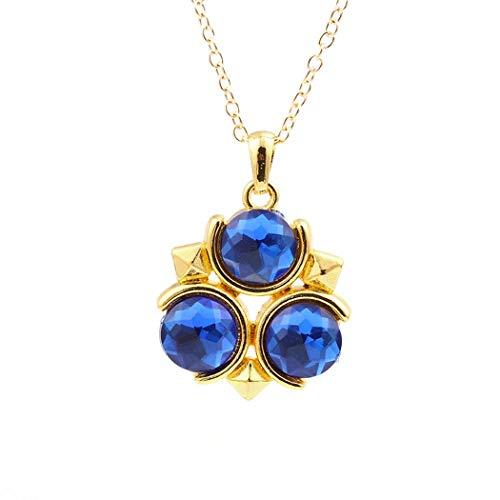 Feidiao Legend of Zelda Halskette Zelda Bokoblin Metall Seil Kette Anhänger Halsketten Schmuck Zubehör Halskette Damen (H)