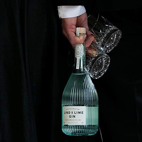 Lind & Lime Gin - Nachhaltiger Gin aus Schottland, 1 x 0.7 l, 44%vol - 4