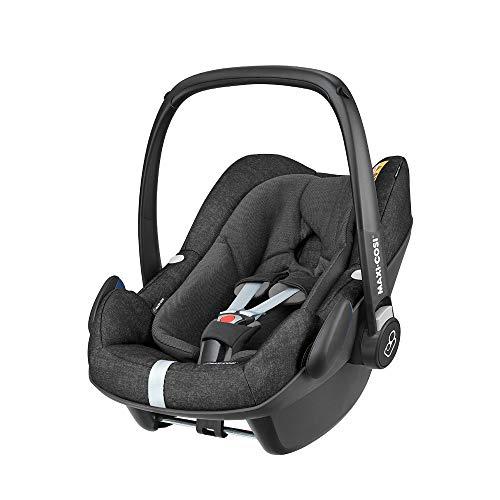 Maxi-Cosi Pebble Plus, Cosi i-Size pour Bébé, Siège Auto Groupe 0+, de 45 à 75cm, 0 à 12kg, Nomad Black