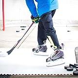 Skate Anytime - Synthetic Ice for Hockey - Skateable Artificial Ice Tiles - Backyard Ice Rink - Expandable (Skateable Synthetic Ice for Hockey Training, Standard Starter Kit (8 Panels) 25 sq ft)