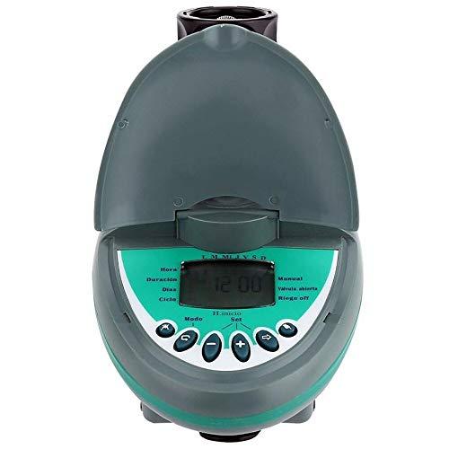 N\A Schlauch Sprinkler Wasser Timer LCD-Kunststoff-Wasser-Timer for Schläuche Automatische Smart Home Garten Bewässerungssteuerungssystem Automatische Wiedergabe Irrigator 2019 (Color : Green)