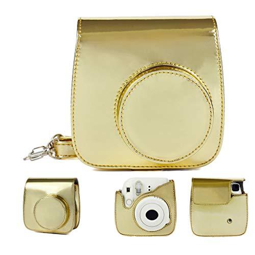 xue binghualoll Artículos para el hogar, Accesorios electrónicos, Bolsa de cámara Groovy Mini 9 Compatible para cámara Fujifilm Instax Mini 8 8+ 9