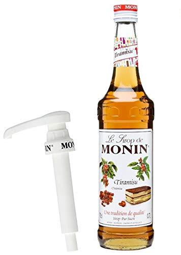 Monin Tiramisu Syrup 70cl & Monin Pump Set