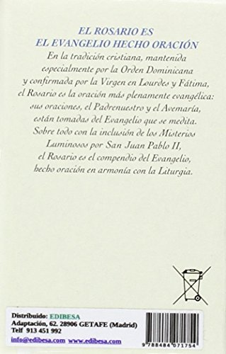 Rosario del Papa ELECTRONICO Sin Auricul