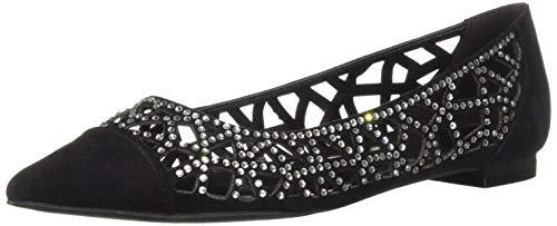 Athena Alexander Women's Andover Sneaker, Black Suede, 7.5 M US