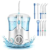 Water Flosser, Cozzine Oral Irrigator Dental Care Flossers for Teeth with 600ml Reservoir