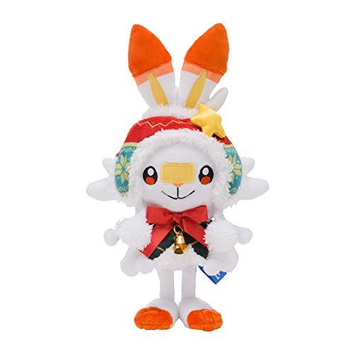 Pokemon Center Japan Pokémon Christmas Wonderland Plush dool Scorbunny 21cm