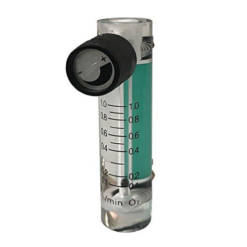 Acryl Flowmeter Gas Acryl Metall Armatur Sauerstoff schwebekörper-Durchflussmesser - 0,1-1L