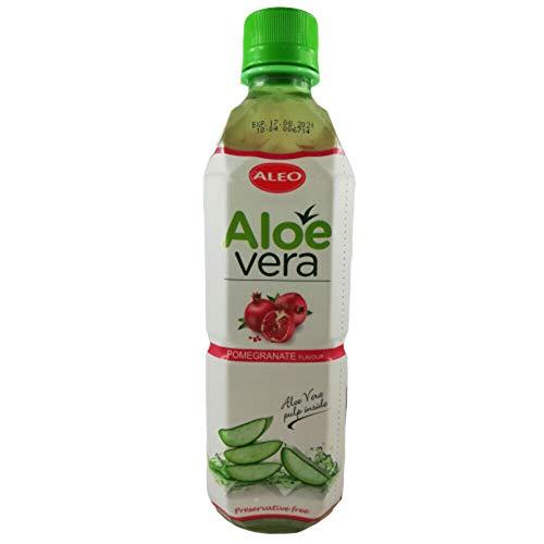 Getränk mit Aloe Vera Stückchen 500ml verschiedene Sorten inkl. 0,25€ Einwegpfand (Granatapfel)