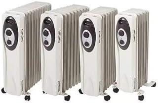 Soler & Palau SAHARA-2003 Piso 2000W Negro, Color blanco Radiador - Calefactor (Radiador, Negro, Color blanco, Giratorio, 230 V, 250 mm, 445 mm)