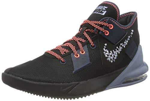 Nike Herren Air Max Impact 2 Basketball Shoe, Thunder Blue/Football Grey-Black-Ashen Slate-Bright Mango, 42 EU