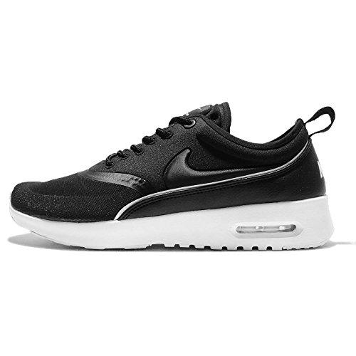 Nike Mädchen W Air Max Thea Ultra Laufschuhe, Black (Black (schwarz / schwarz-weiß-dunkelgrau)), 36.5 EU