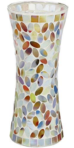 "Galashield Flower Vases for Decor Mosaic Ceramic Vase 11.8"" Tall"