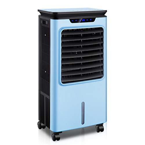 Condizionatori a evaporazione Raffrescatore Evaporativo Portatile Raffreddatore d Aria per Uso Domestico 12H Timing 35L Serbatoio d Acqua con Telecomando E 3 velocità 3-Wind Mode Cold Air Fan-Blue