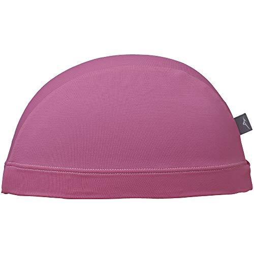 MIZUNO(ミズノ) スイムキャップ 競泳 水泳帽 2WAY(縦横に伸びるタイプ) ゆったりサイズ N2JW9101 ピンク