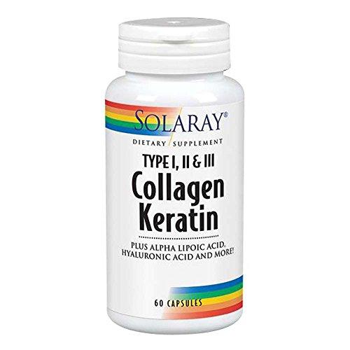Kollagen Keratin - Kollagen mit Keratin - 60 Kapseln