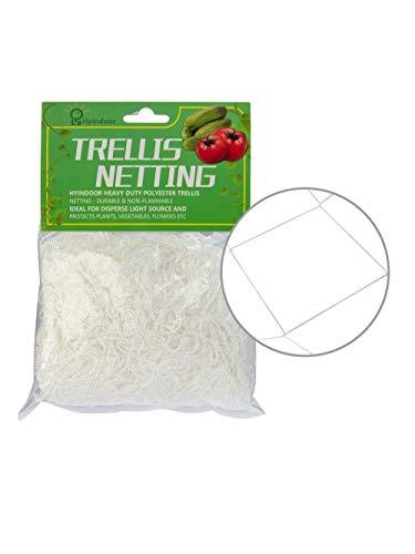 HYINDOOR Heavy Duty Trellis Netting Plant Support Net Trellis Net 5×30ft