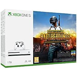 Xbox One S - Consola de 1 TB + Playerunknowns Battlegrounds + Minecraft Explorer + Mando Inalámbrico: Edición Limitada Minecraft Creeper + Soporte Vertical + Forza Horizon 3 (Xbox One): Amazon.es: Videojuegos