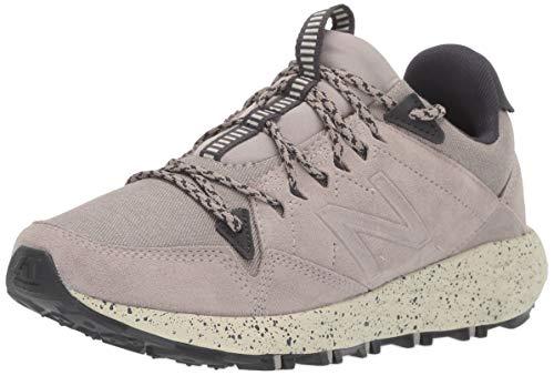 New Balance Women's Fresh Foam Crag Trail V1 Sneaker, Warm Alpaca/Phantom, 7.5 M US