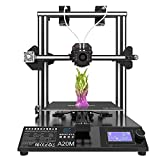 Geeetech Upgrade A20M 3D Printer, Mix-Color 3D Printing with Dual Extruder, 95% Pre-Assembly 3D Printers with Resume Printing, Filament Detector and All Metal Build Volume as 255×255×255mm3