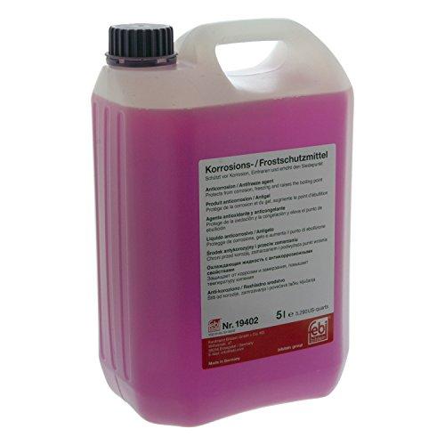 febi bilstein 19402 Frostschutzmittel G12+ , 5 Liter