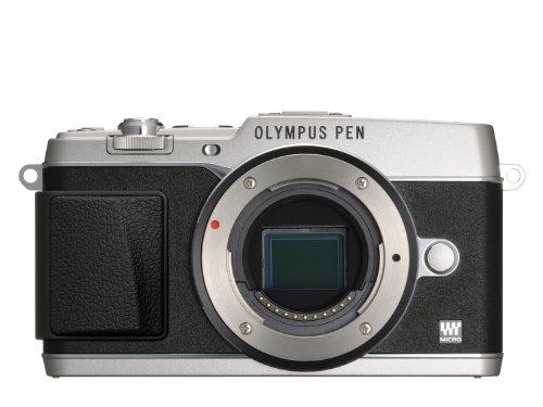 """Olympus E-P5 - Cámara Evil de 16.1 MP (Pantalla 3"""", estabilizador óptico, grabación de vídeo), Negro - Solo Cuerpo"""