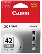 Canon 6390B002 CLI-42 GRAY INK TANK - CARTRIDGE - FOR PIXMA PRO-100 INKJET PHOTO PRINTER - CLI-