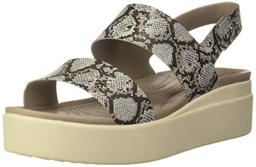 Crocs Damen 206453-93T_41/42 Outside Sandals, Brown, EU thumbnail