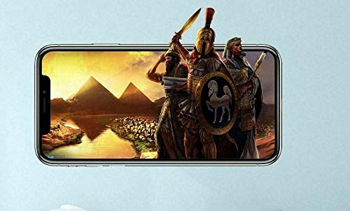QAW Pegatinas de pared Age of Empires calcomanías de vinilo personalizadas para pared, juego de pelar y pegar, habitación de niños