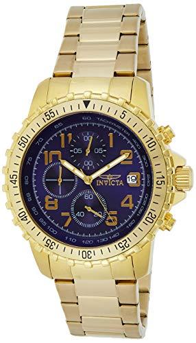 Invicta Men's Specialty 6399 Gold Stainless-Steel Quartz Fashion Watch